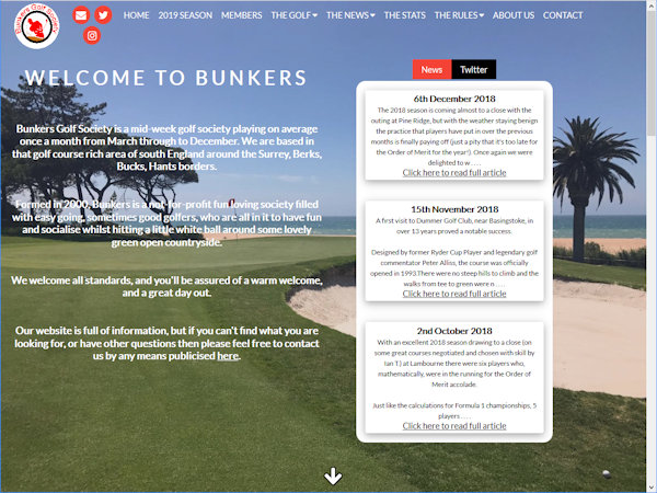 Bunkers Golf Society